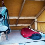 Thomas Stevenson, NYC glamping, Bivouac, glamping in the city, pop-up camping, rooftop camping, communal dinner, canvas tents,