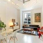 23 Waverly place, co-op, studio, loft, greenwich village, living room
