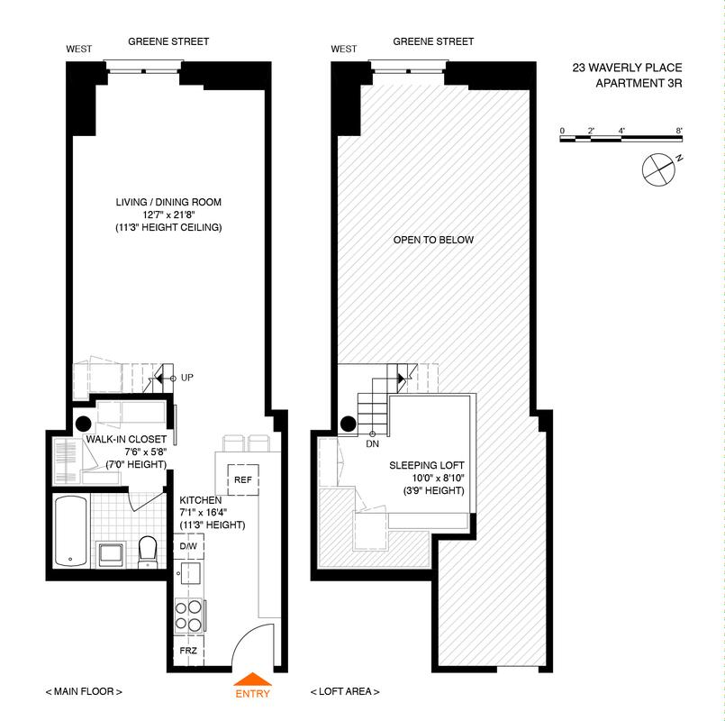 $700K Greenwich Village Studio Fits Maximum Storage Into