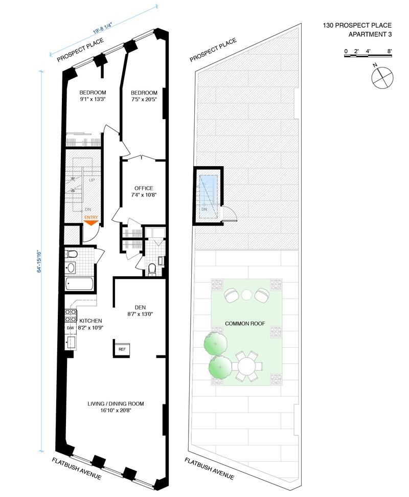 Regents Park Apartments Vienna Va: 130 Prospect Place Floorplan