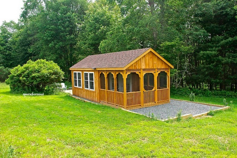 Stay In This Demure Off Grid Cabin In The Middle Of The