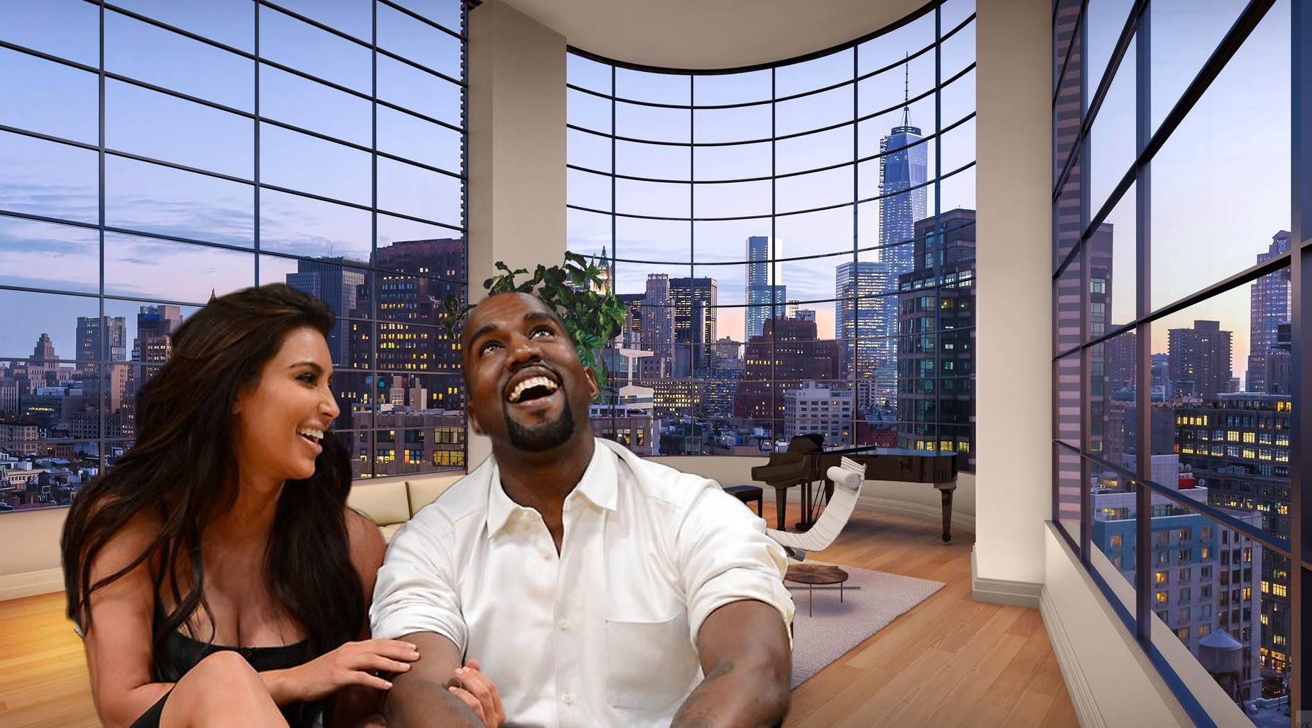 Kim And Kanye Try To Snag $30M Airbnb Pad For Free