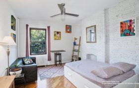 361 Sterling Place, studio, prospect heights, bedroom