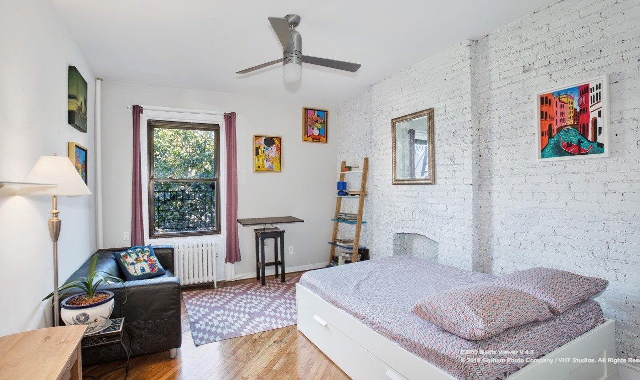 Cute and Cozy Studio Asks Under $400K in Prospect Heights | 6sqft