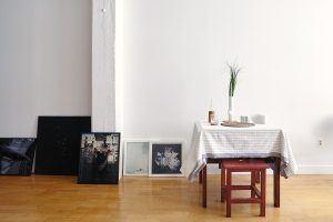 sasha maslov brooklyn navy yard loft studio table