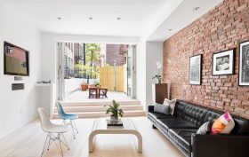354 bowery, condo, noho, living room
