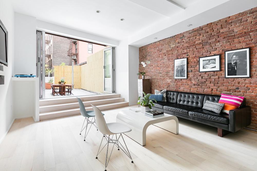 354 Bowery Condo Noho Living Room