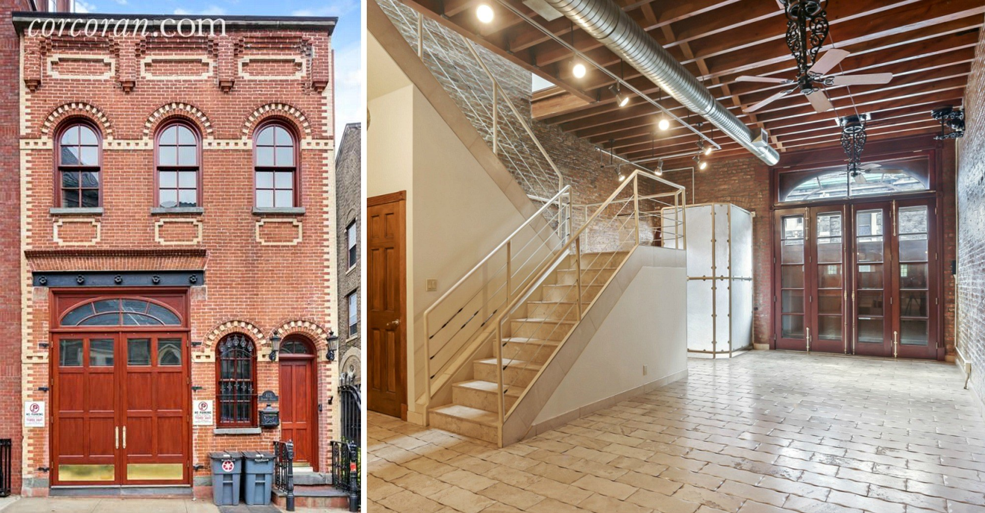Rent this historicmeetsmodern Cobble Hill carriage house for