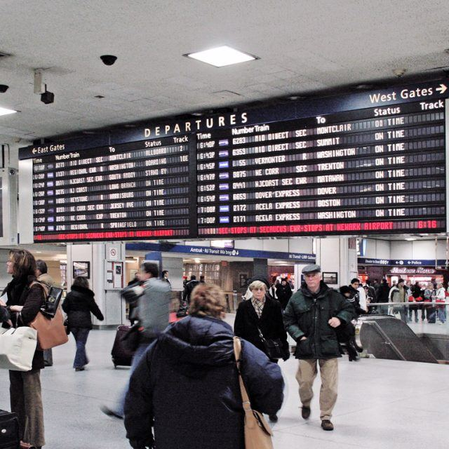 Amtrak tearing down Penn Station departure board; Billy Bush lost $1.4M on his Chelsea house