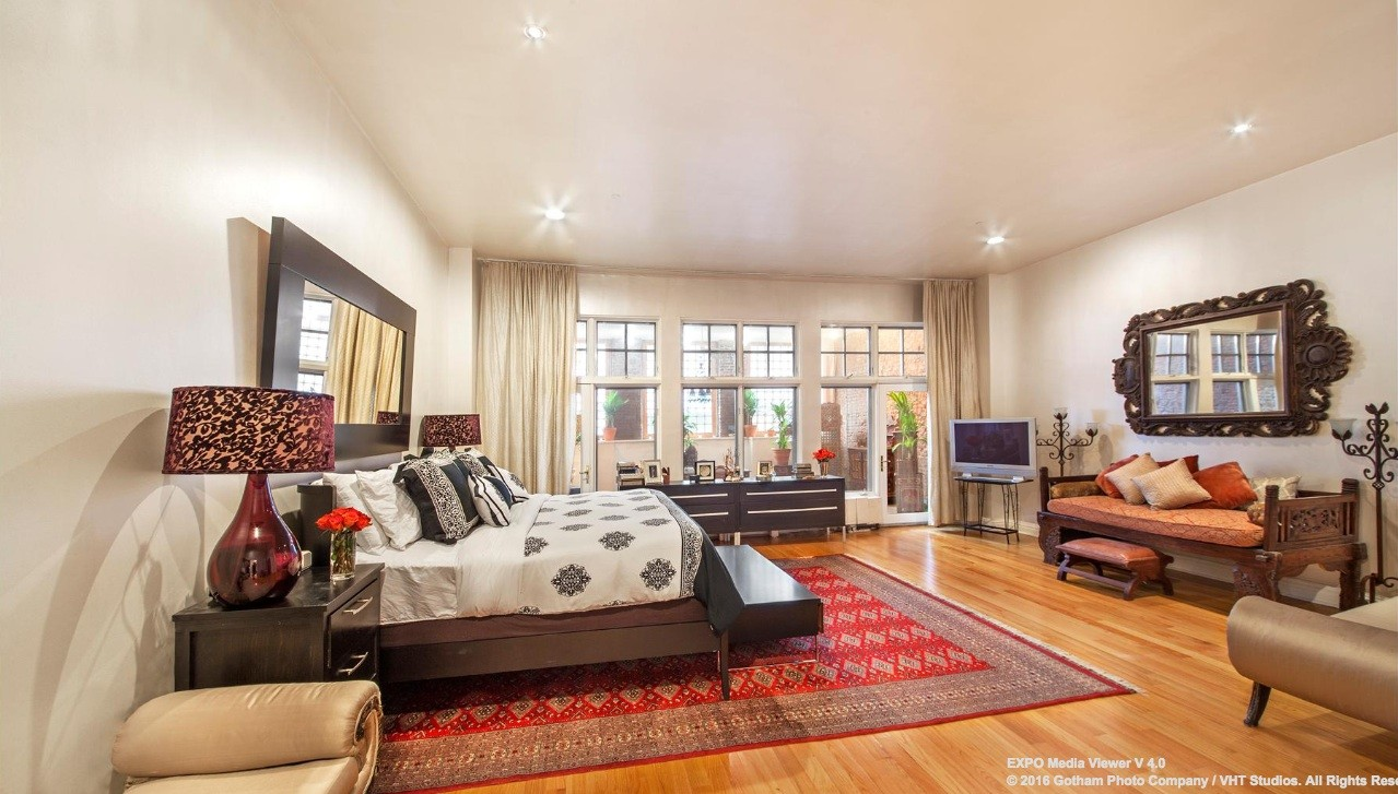 354 broadway, duplex, tribeca, bedroom