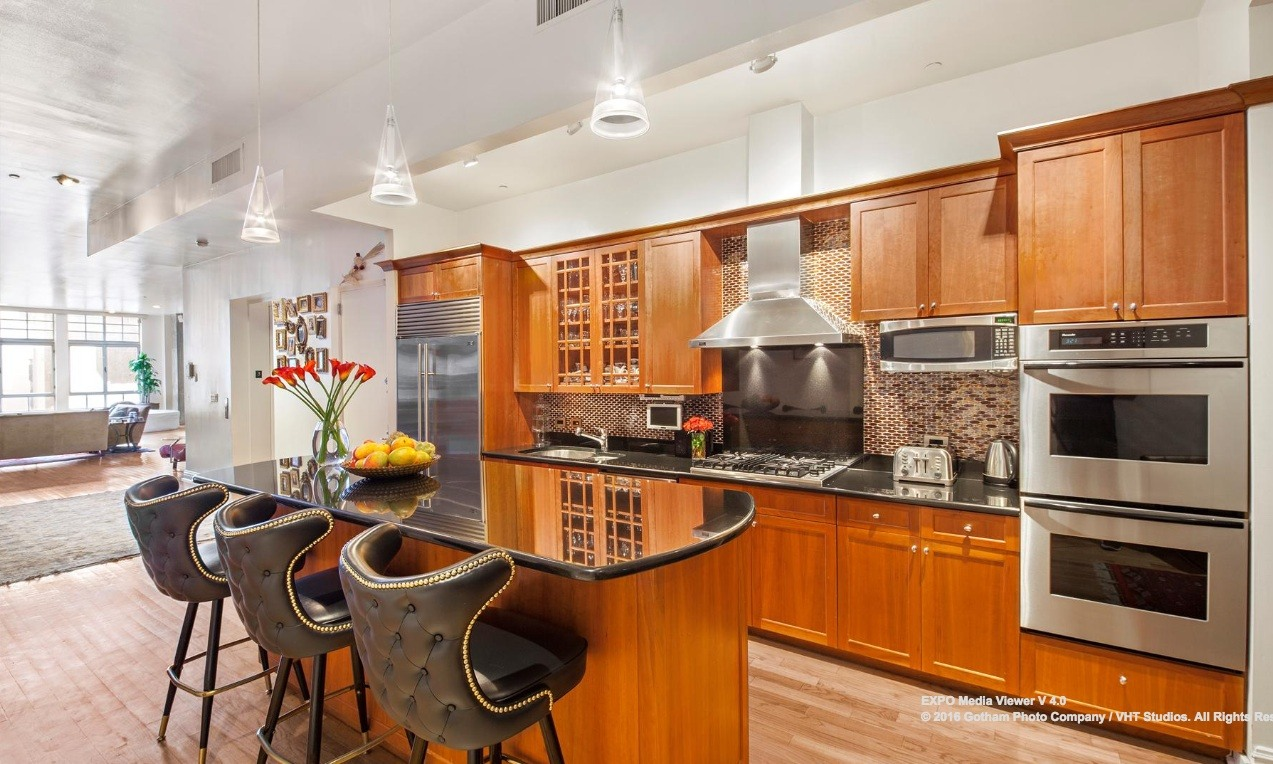 354 broadway, duplex, tribeca, kitchen