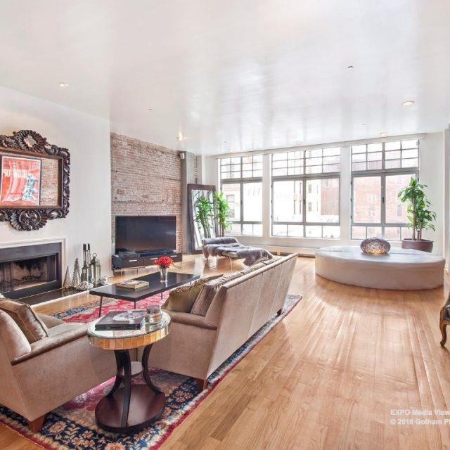 Tribeca duplex with two enclosed loggias asks $22,500/month