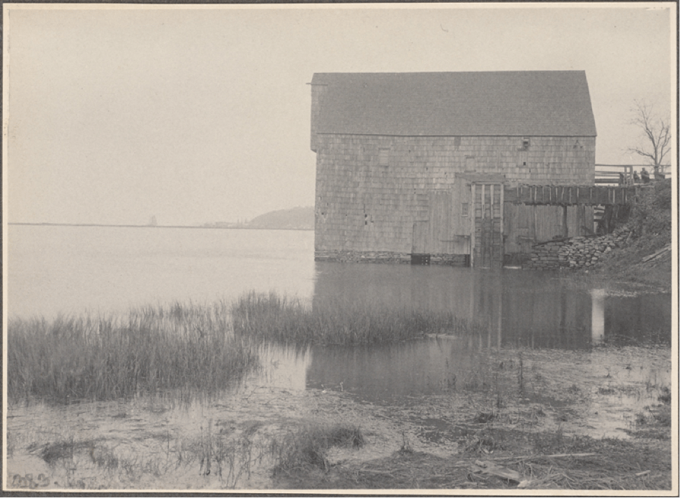 Ice house in Cold Spring Harbor L.I. 1885