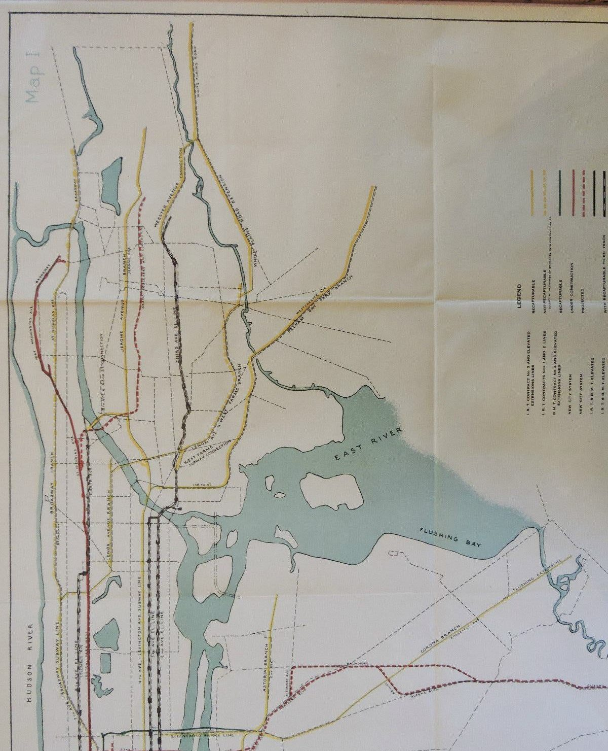 This  City Subway Map Shows Early Transit Plans Sqft - Nyc subway map queens ny