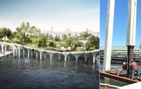 Pier55-first-nine-piles-work-