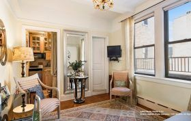 20 West 72nd Street, studio, co-op, upper west side, living room