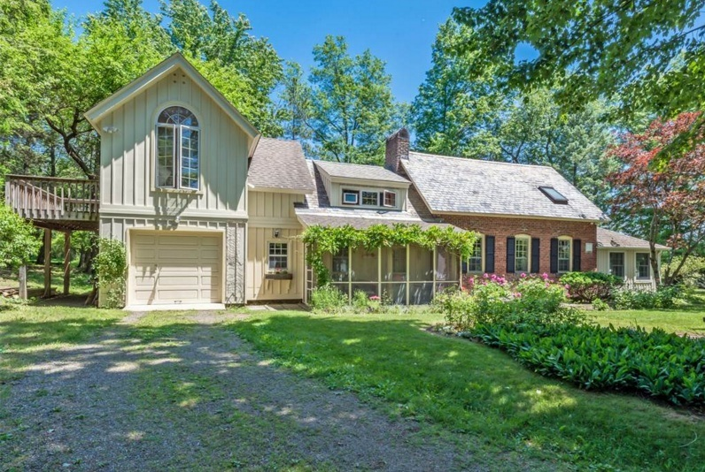 A charming former schoolhouse asks just 310k in upstate for Upstate new york houses