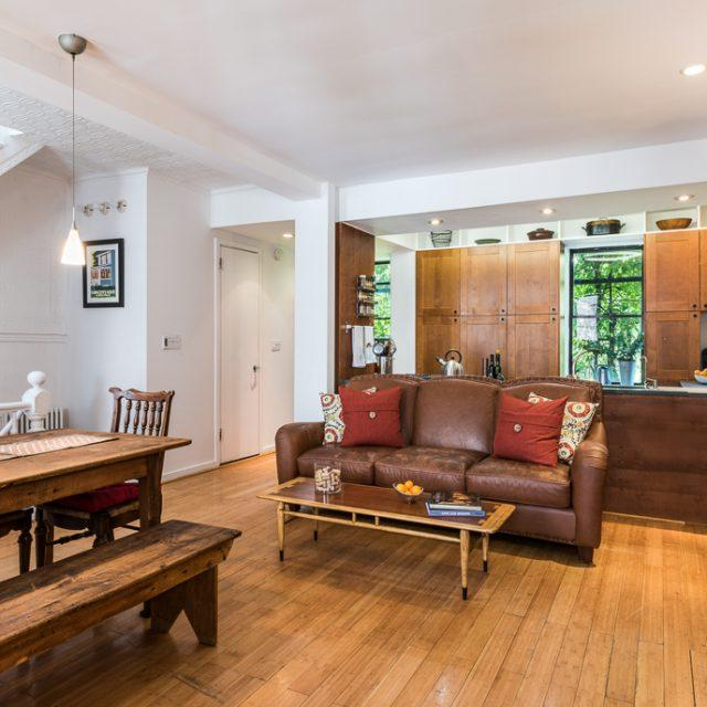 $3.5M Boerum Hill carriage house comes with a three-family townhouse in the front for rental income