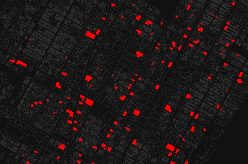 Vacant New York: Mapping all of Manhattan's empty storefronts