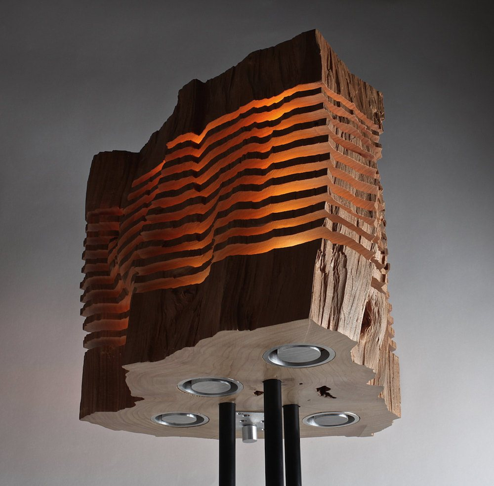 Paul Foeckler, Split Grain, firewood lighting