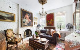 335 West 21st Street, cool listings, chelsea, duplex, manhattan co-op for sale, co-op, co-ops, garden apartment