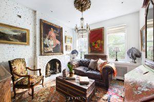 335 West 21st Street, cool listings, chelsea, duplex, manhattan co-op for sale, co-op, co-ops, garden apartment