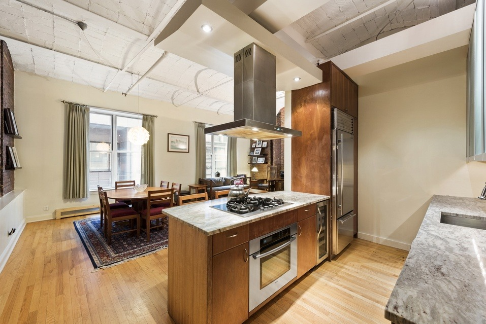 54 pine street, tribeca, condo, kitchen