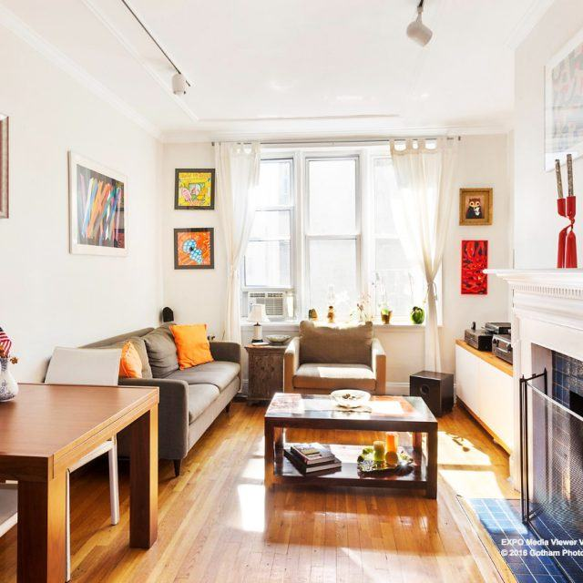 Cozy Park Slope duplex comes with a sunny garden and wood-burning fireplace, all for $780K