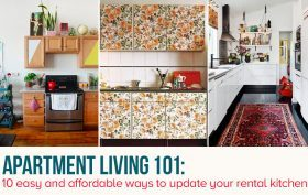 rental kitchen makeover ideas