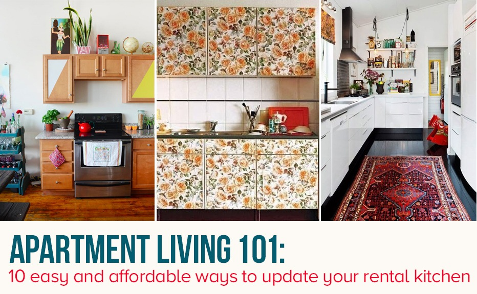 10 easy ways to give your rental kitchen a makeover 6sqft for Nyc apartment kitchen ideas