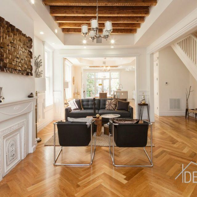 $1.5M Bushwick townhouse charms with its blend of modern and historic