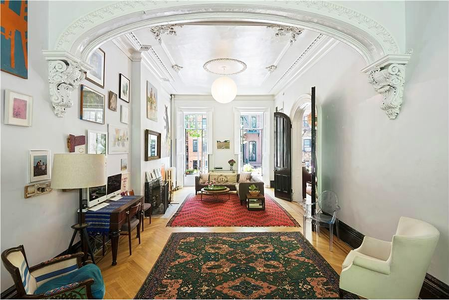 Kate Spade founder's boho East Village townhouse returns as a $40,000/month rental