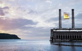 Big Foot Developers, The Floating Restaurant, Glenwood Power Plant, glass restaurant