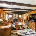 100 Old Lake Street, revolutionary war, west harrison, living room