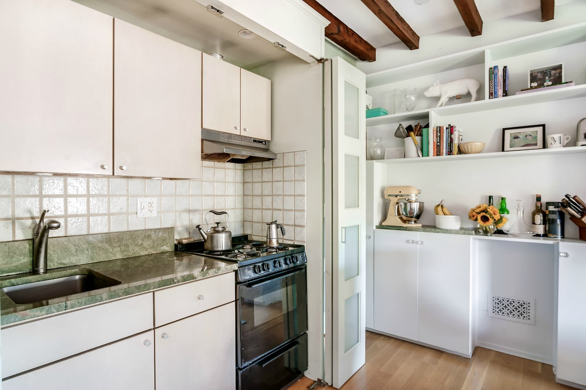 $495K Park Slope brownstone co-op has a roof deck and a kitchen that ...