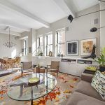 263 9th Avenue, penthouse, condo, chelsea, living room