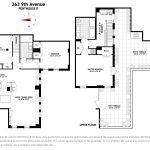 263 9th Avenue, penthouse, condo, chelsea, floorplan