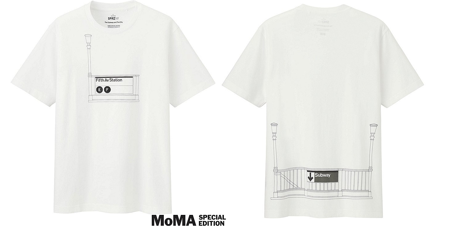 Brooklyn Subway Map Tees.Uniqlo S Nyc Subway Inspired T Shirt Collection Hits Stores 6sqft