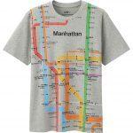 Massimo Vignelli, subway-tshirt, MTA, Uniqlo