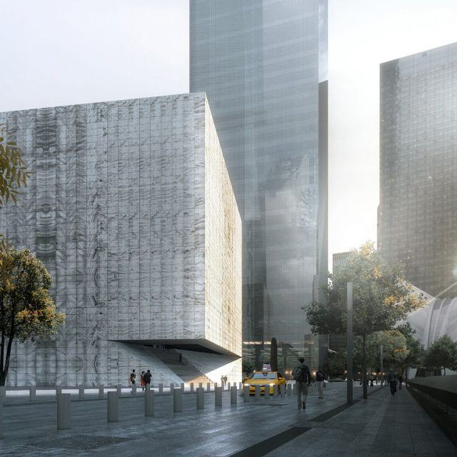 Plan for a performing arts space at the World Trade Center moves forward
