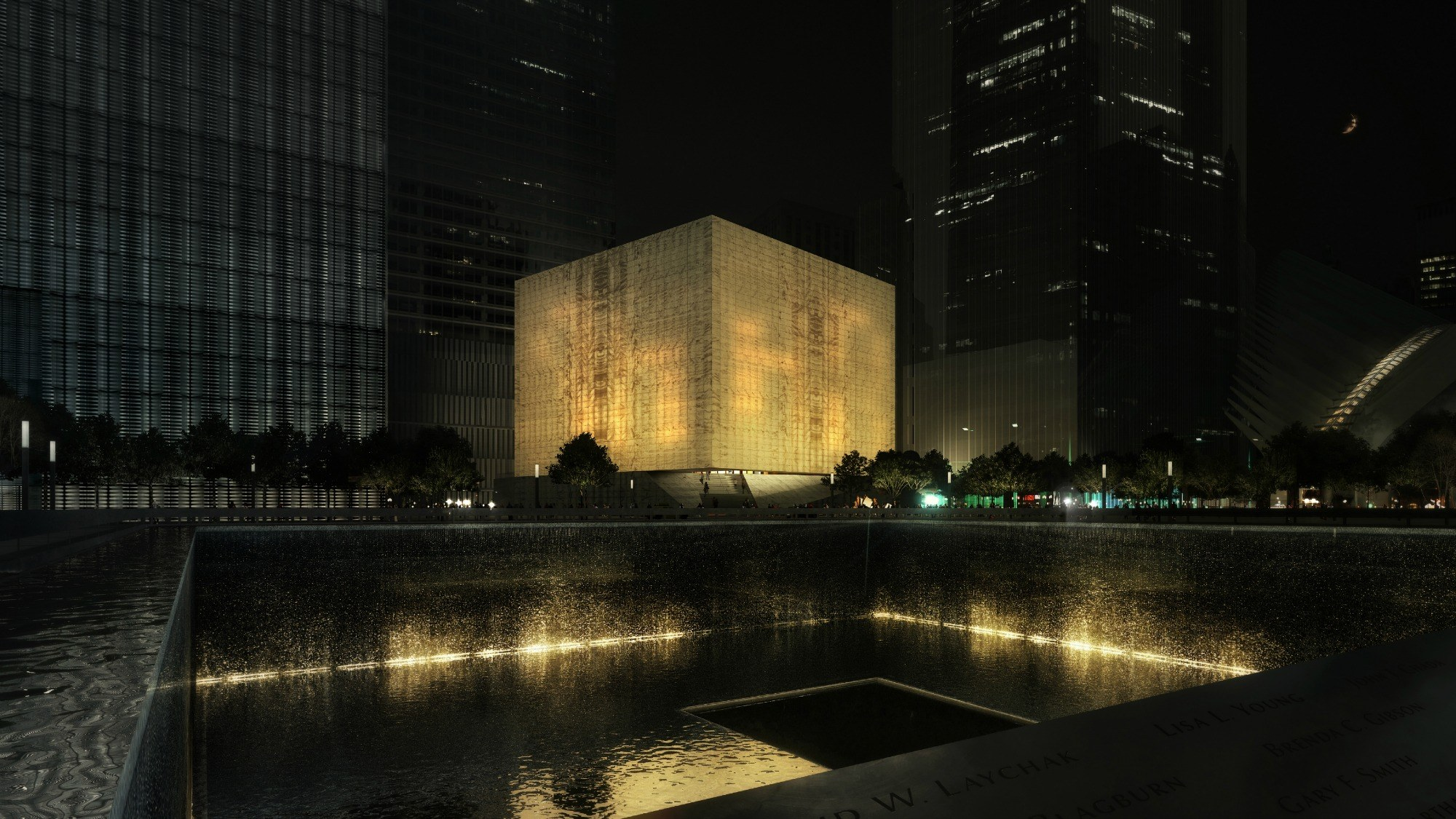 Revealed world trade center performing arts center will - Architekt one world trade center ...