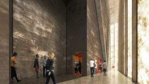 World Trade Center Performing Arts Center, REX architects, The Perelman Center, Silverstein Properties, World Trade Center architecture