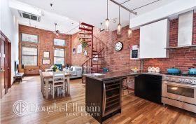 68 thomas street, tribeca, loft, living room