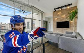1 York Street, Derick Brassard, Tribeca celebrities