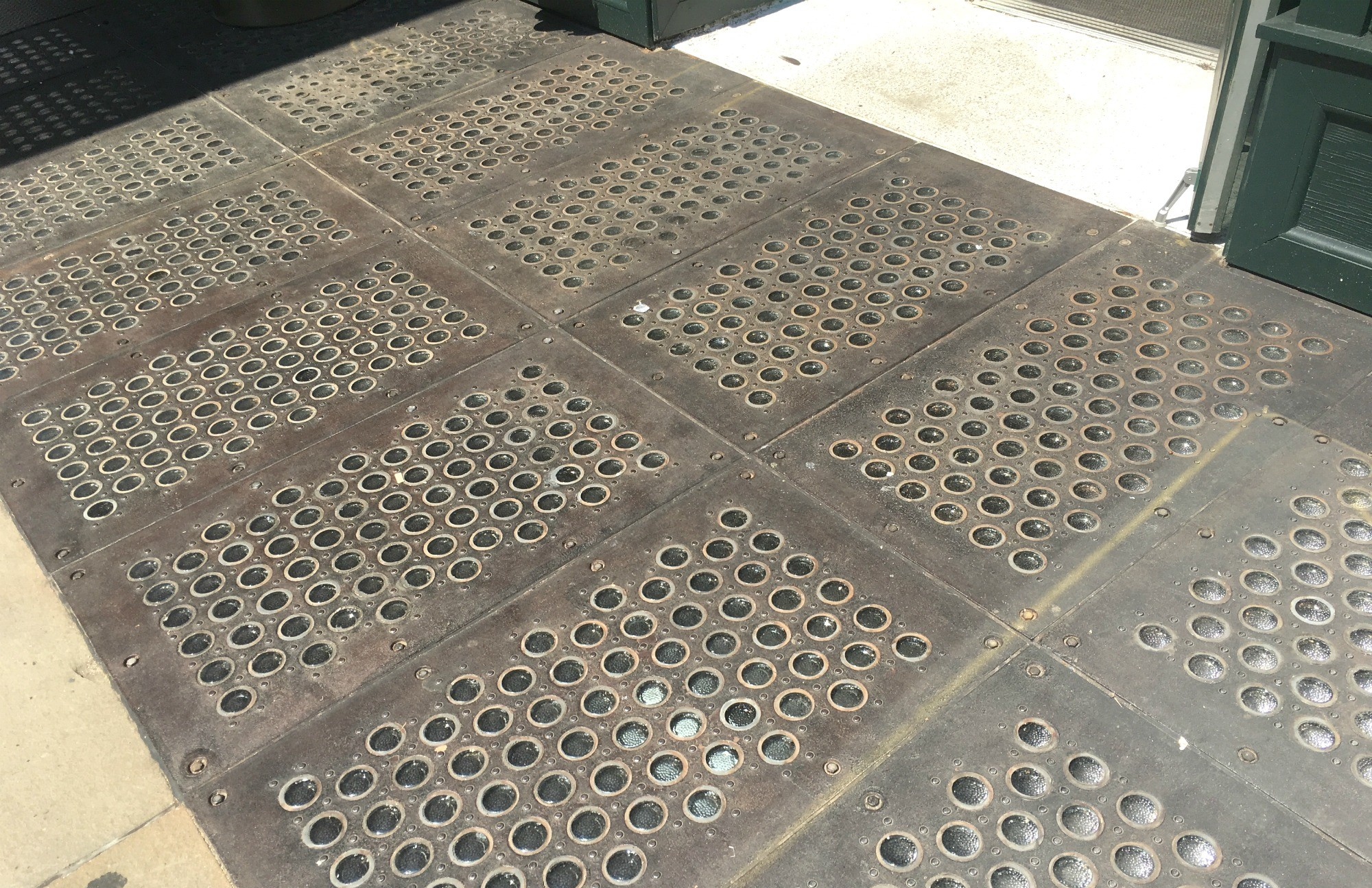 Downtown's historic glass sidewalks may become a lost relic