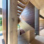 Amagansett, Bates Massi Architects, Elizabeth II, Staircase