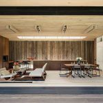 Amagansett, Bates Massi Architects, Elizabeth II, dining room, living room