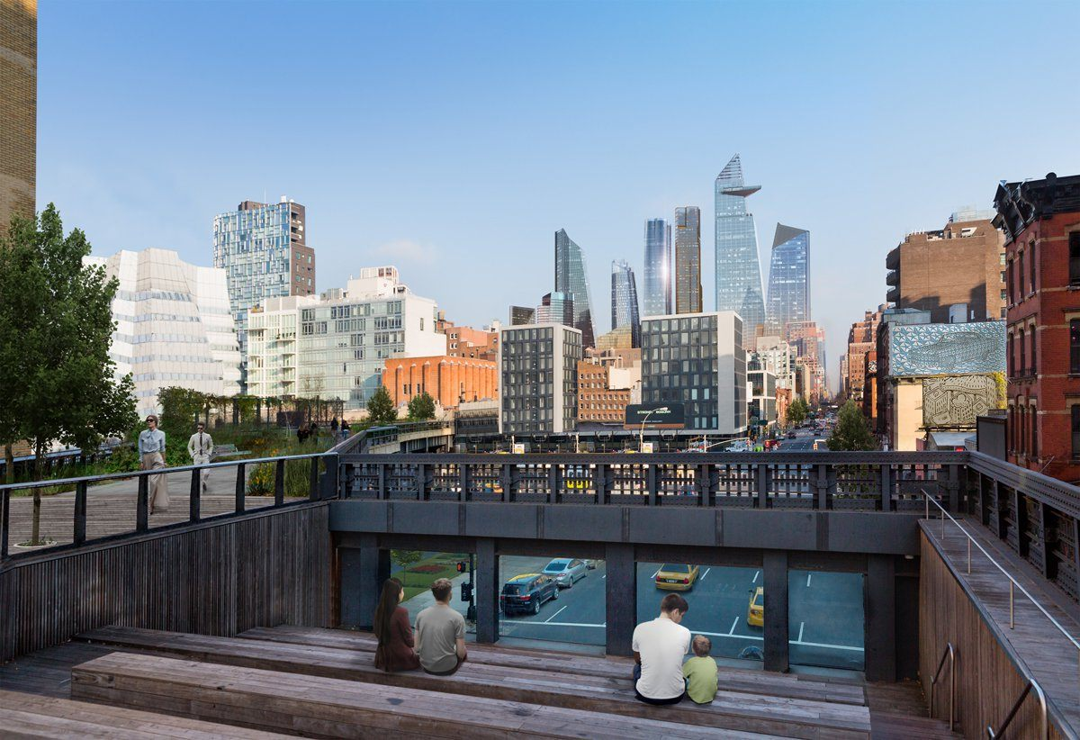 New views of curvaceous 15 hudson yards ahead of this week for How far is hudson ny from nyc
