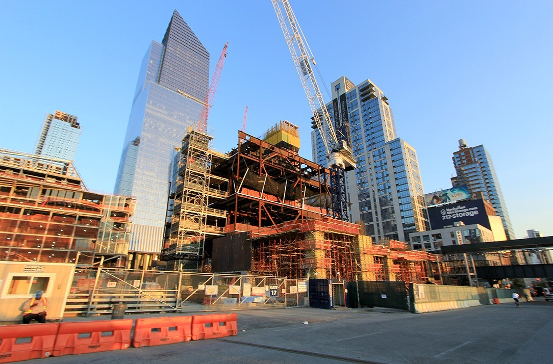 15 Hudson Yards, Diller Scofidio + Renfro, Hudson Yards construction