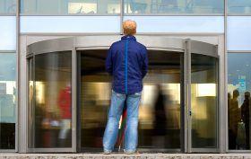 revolving door, Theophilus Van Kannel, sustainability, social phobia, doors